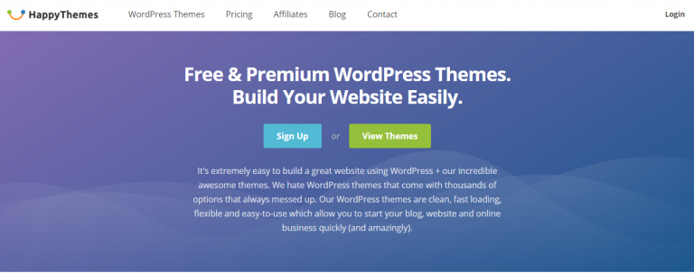 Happythemes Review most wanted WordPress theme for free