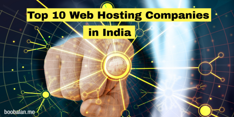 Top 10 Web Hosting Companies in India 2020